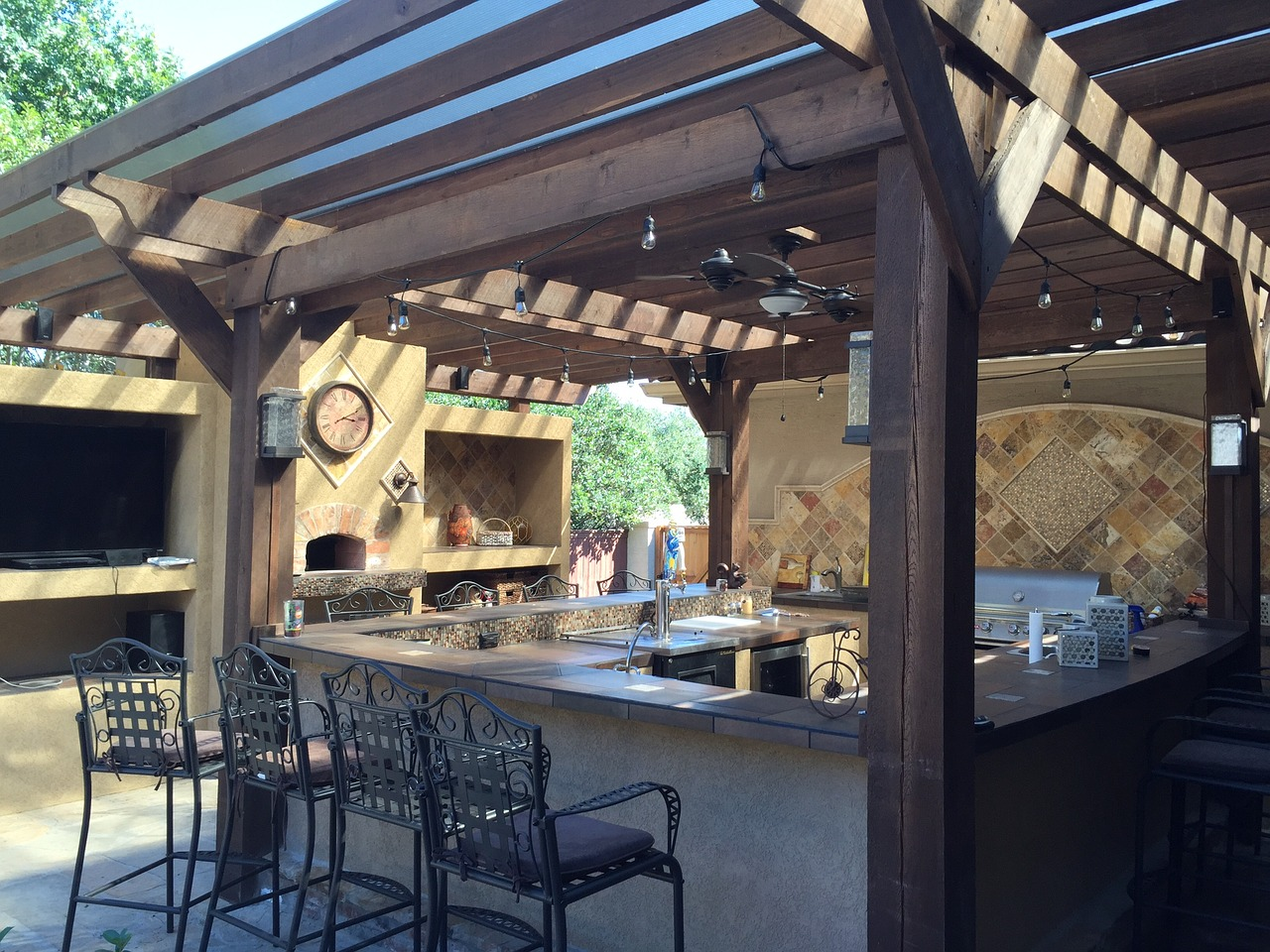 Learn about three benefits of adding an outdoor kitchen to your home.