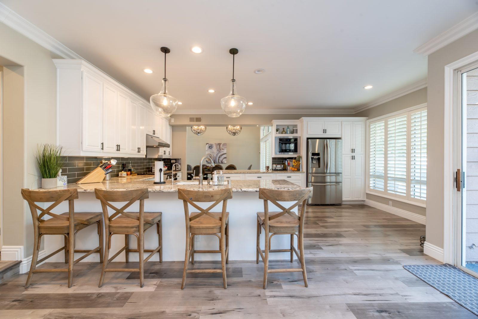 Learn about the top five design ideas for your new kitchen.