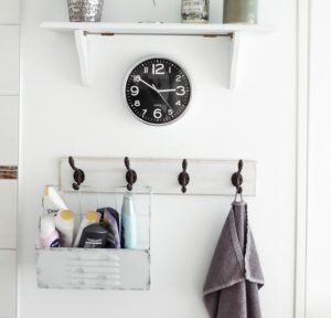 remodel your bathroom by updating your towel rack