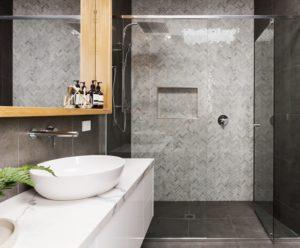 luxurious shower wall materials