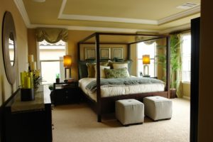 luxury features for a master bedroom