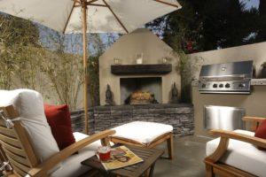t&g builders outdoor living space