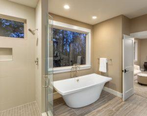 t&g builders spa-like bathroom