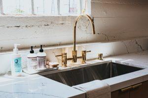T&G builders kitchen faucet