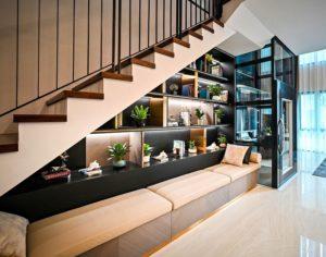 t&g builders built-in storage solutions
