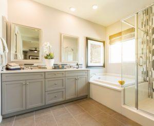 T&G Builders double vanity