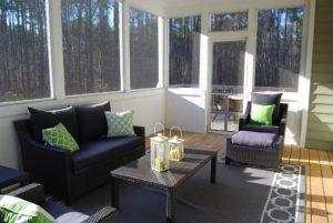 T&G Builders utilize your sunroom