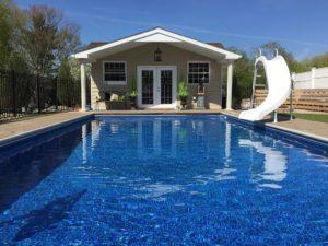 T&G Builders pool house design