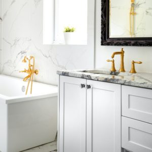 T&G Builders bathroom countertop materials