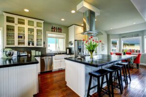 T&G Builders kitchen layouts